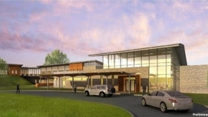 A rendering of the $37 million Texas Health Residential Treatment Center to be built in Mansfield.